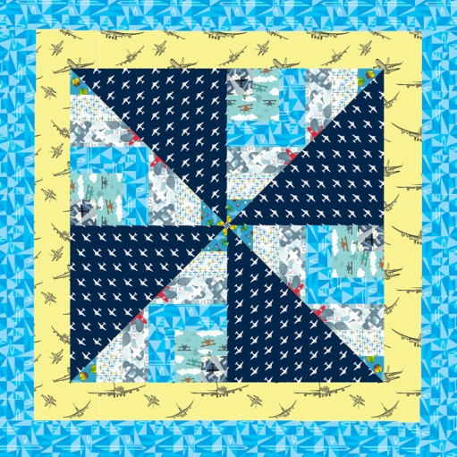 Aviation-Quilt-Block